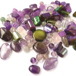 `Cornish Heather` Gemstone Bead Pack, 20 grams