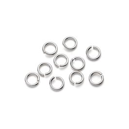 Sterling Silver 5mm Round Jump Rings, Pack of Ten