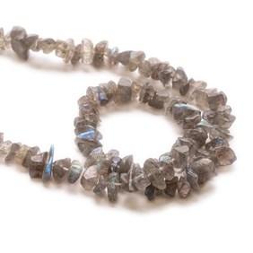 Labradorite Chip Beads