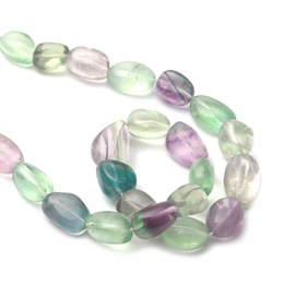 Rainbow Fluorite Chunky Nugget Beads Approx 18x13mm