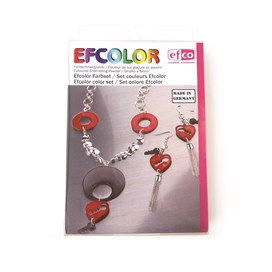 Efcolour Low Temperature Enamelling Kit with 10 Colours and 5 Part Tool Kit