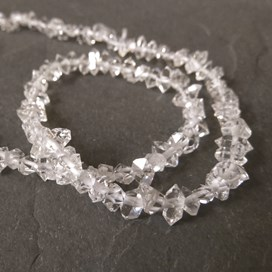 Herkimer 'Diamond' Natural Crystal Beads, Approx 5mm