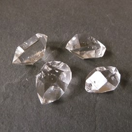 Herkimer 'Diamond' Natural Crystal Beads, 15-20mm