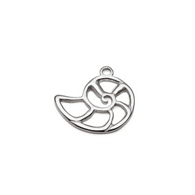 Sterling Silver Nautilus Charms