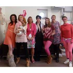 'The Big Pink' Fundraising Fun