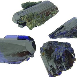 Moroccan Azurite Crystal Clusters.