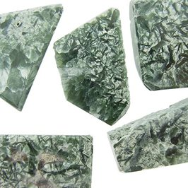 Seraphinite Polished Slices