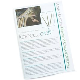 Using Diamond Coated Drill Bits - Kernowcraft