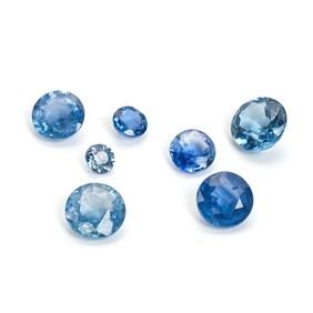 Cornflower Blue Sapphire Faceted Stone