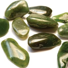 Nephrite Jade Tumble Polished Gemstones