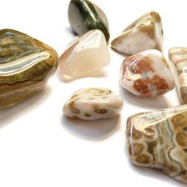 Ocean Jasper Tumble Polished Gemstones