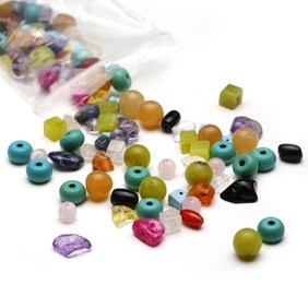 Treasure Trove Gemstone Bead Pack - 20 grams