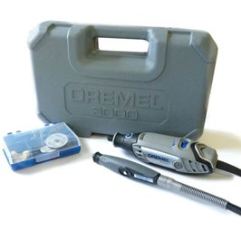 Dremel 3000 Multi Tool with Flexible Shaft & 25 Accessories
