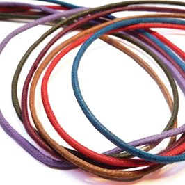 Coloured Cotton Cord, 2mm