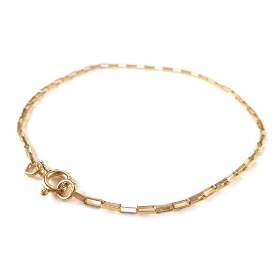 9ct Gold Raindrop Chain
