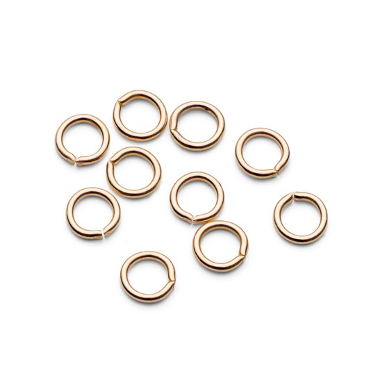 9ct Gold 3.5mm Round Jump Rings