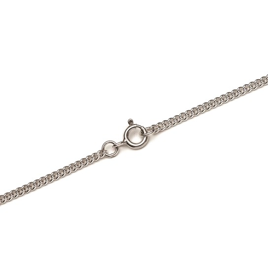 Sterling Silver Heavy Curb Chain