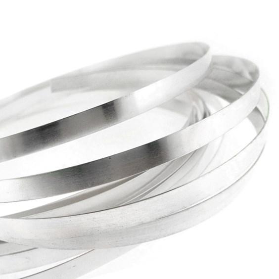 Fine Silver Bezel Strip