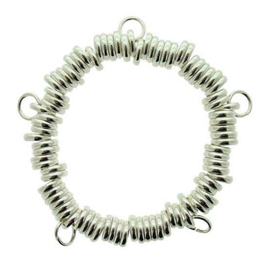 Silver Plated `Sweetie Bracelet`