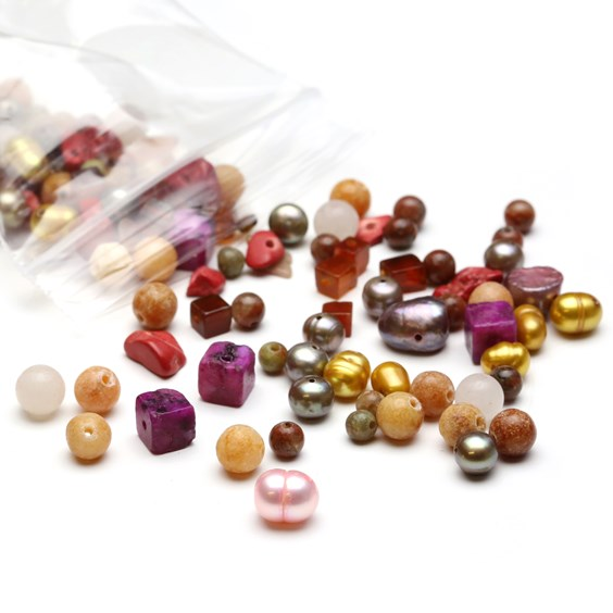 `Sunset` Gemstone Bead Pack - 25 grams