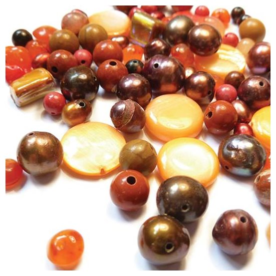 `Spice` Gemstone Bead Pack - 25 grams