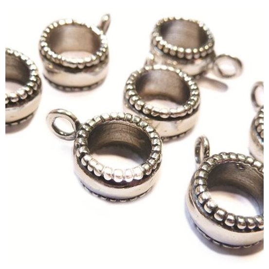 Sterling Silver Charm Bead Bail